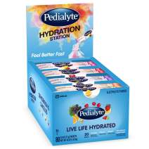Pedialyte Electrolyte Powder Pedialyte Hydration Station Multipack, Electrolyte Hydration Drink, 0.6-oz Electrolyte Powder Packets, 80 Count, basic