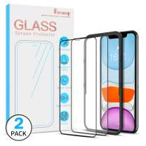 [2 Pack] Benazcap Screen Protector for iPhone 11 Pro/Xs/X 5.8 Inch 2019 Release,Tempered Glass Screen Protector with Installation Frame 9H Clear Natural Touch for Newest iPhone 11 Pro 5.8 Inch