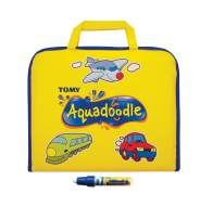 AquaDoodle Colour Doodle Bag Travel Water Doodle Mat, Official Tomy No Mess Colouring & Drawing Game, Suitable for Toddlers and Children - Boys & Girls 18 Months, 2, 3, 4+ Year Olds