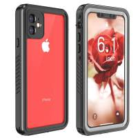 Red2Fire Designed for iPhone 11 Case, Full Body with Built-in Screen Protector, Clear Sound, Heavy Duty Shockproof Rugged Case for iPhone 11 Cases 6.1 Inch (2019)
