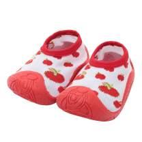 iEndyCn Baby Socks With Rubber Soles Newborn Non-slip Breathable Children Toddler Shoes Socks