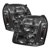 Spyder Auto PRO-YD-GY07-HL-SM Smoke Halo Projection Headlight
