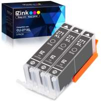E-Z Ink (TM) Compatible Ink Cartridge Replacement for Canon CLI-271XL CLI 271 XL to use with PIXMA TS8020 TS9020 MG7720 Printer (Gray, 3 Pack)