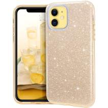 MATEPROX iPhone 11 case,Bling Sparkle Cute Girls Women Protective Case for iPhone 2019 6.1inch(Gold)