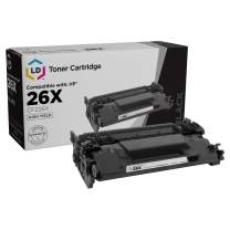 LD Compatible Toner Cartridge Replacement for HP 26X CF226X High Yield (Black)