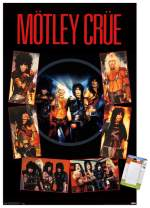 "Trends International Poster Mount Motley Crue - Shout at The Devil, 22.375"" x 34"", Poster & Mount Bundle"
