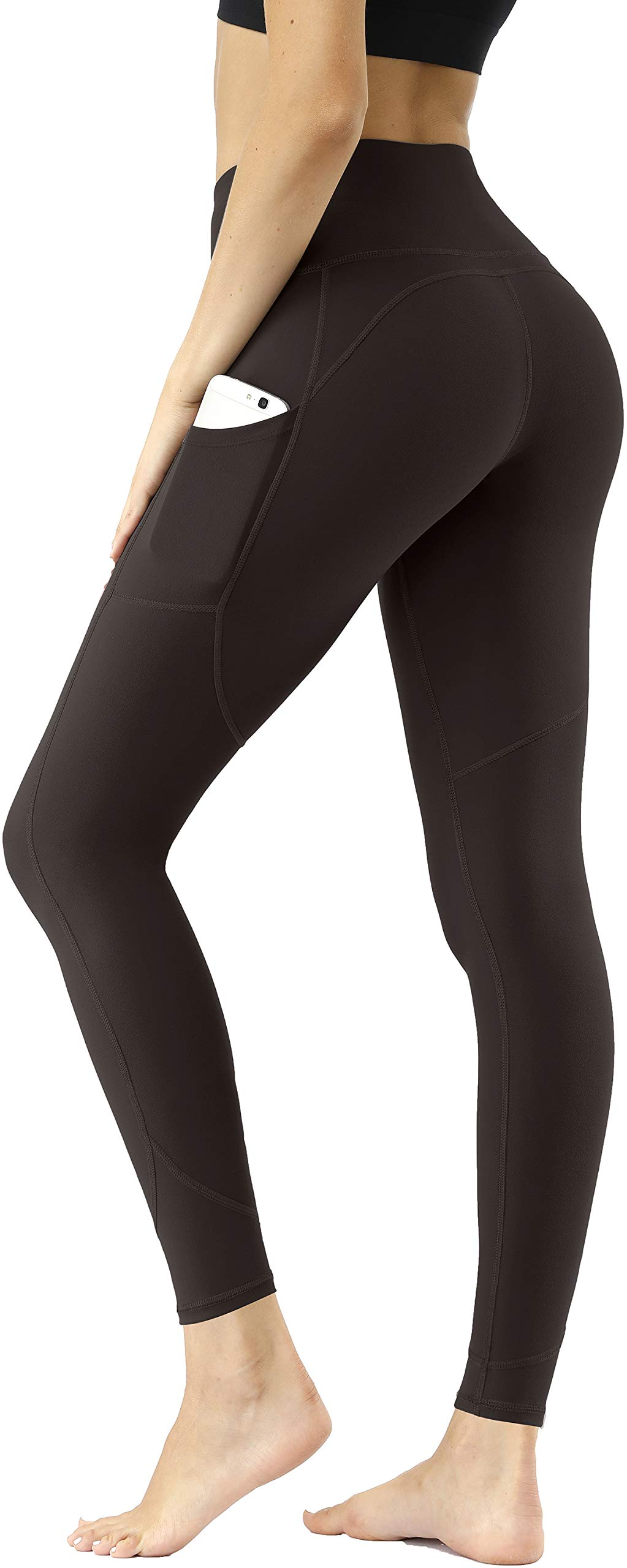 DILANNI Womens High Waisted Yoga Pants Workout Leggings with Pockets