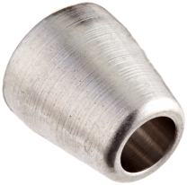 """Parker CPI 1 TZ-SS 316 Stainless Steel Compression Tube Fitting, Front Ferrule, 1/16"""" Tube OD (Pack of 100)"""