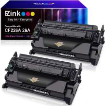 E-Z Ink (TM) Compatible Toner Cartridge Replacement for HP 26A CF226A 26X CF226X (Black, 2 Pack)