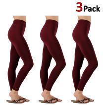 KOGMO Womens All Season Premium Seemless Leggings with High Waist (Multi Colors)
