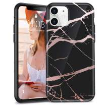 """iPhone 11 Case, Beautiful Marble Case for 6.1"""" iPhone 11 2019 - Black"""