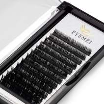 Eyelash Extensions C Curl 0.07mm Volume Faux Mink Eyelash Extension Natural False Eye Lashes 9-16mm Mixed Tray Professional Use by EYEMEI (C-0.07-MIXED) …