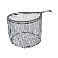 McLean Angling Long Handle Weigh Net, Rubber Mesh