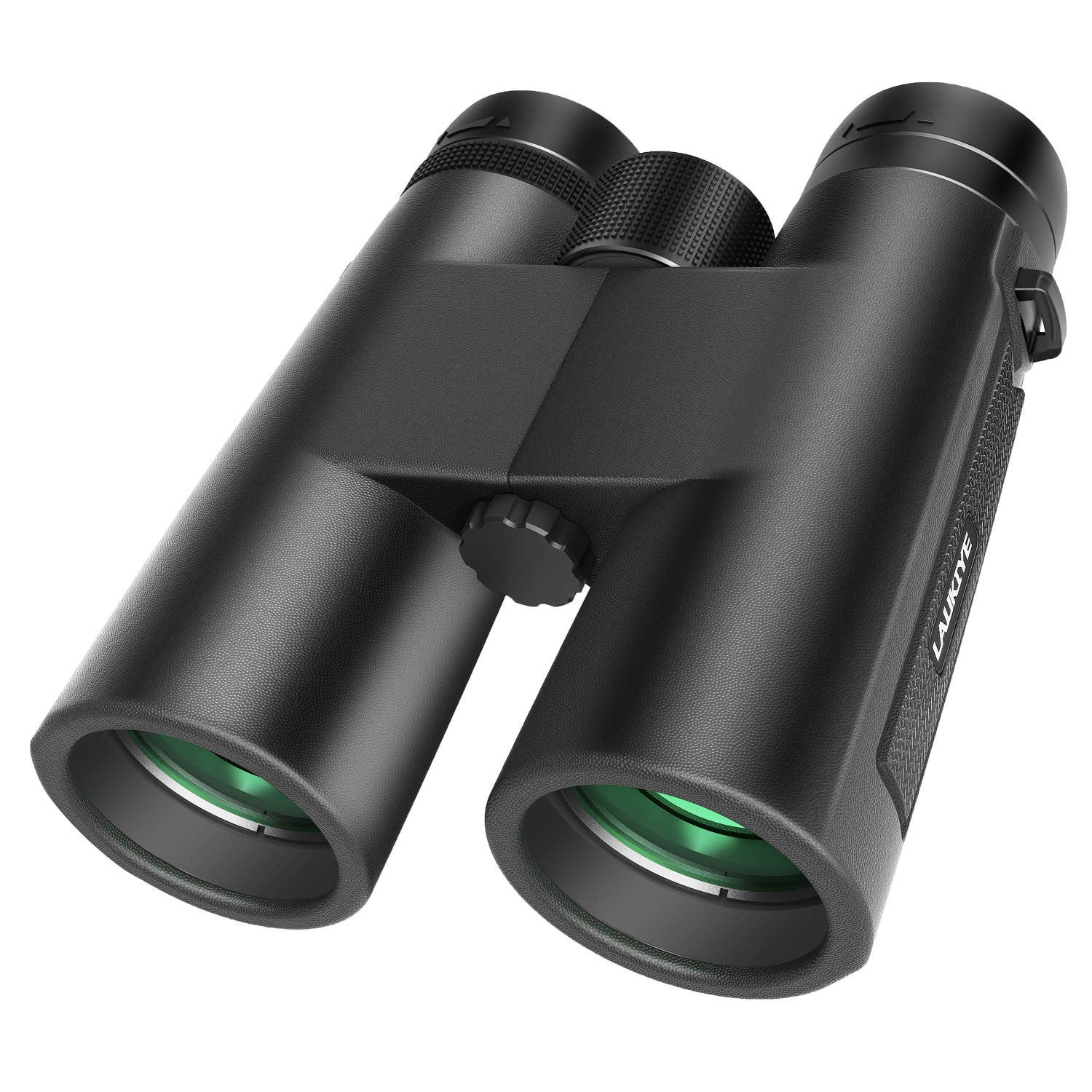 12X42 Binoculars for Adults, HD Professional Binoculars for Bird Watching, Compact Binoculars for Hunting, 18mm Large Eyepiece Binoculars for Outdoor Sports with Super Bright BAK4 FMC Lens