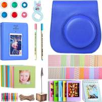 AIKA Accessories Bundle for Fujifilm Instax Mini 9/8/8+ Camera with Case, Album& Other Accessories for Fujifilm Instax Mini 9 8 8+ - [11 Items, Cobalt Blue]