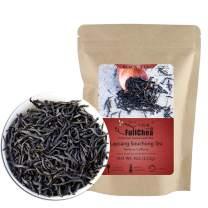 FullChea - Lapsang Souchong - Black Tea Loose Leaf - Traditional Pine Smoky Black Tea - Chinese Wuyi Lapsang Smokey Tea - Medium Caffeine - 4oz / 113g