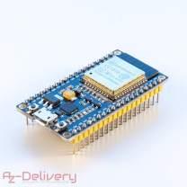 AZDelivery ESP32 NodeMcu WiFi CP2102 Module Development Board Including Free eBook!