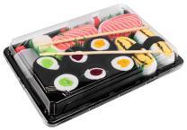 Rainbow Socks - Men's Women's - Sushi Socks Box Tamago Salmon Maki - 5 Pairs