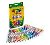 Crayola Erasable Colored Pencils, 36 Count, Art Tools, Ages 4, 5, 6, 7