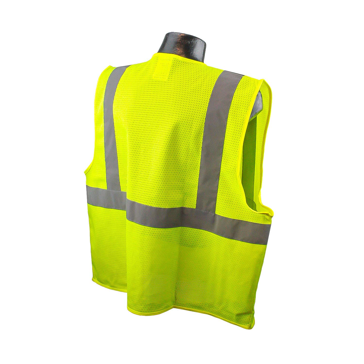 Radians SV2GM5X Class 2 Safety Vest Mesh, Green, 5 Extra Large