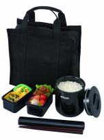 Tiger LWY-T036 Thermal Lunch Box, Black