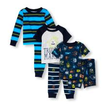The Children's Place Baby Boys 6 Piece Sleepwear Bundle