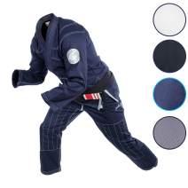 Gold BJJ Jiu Jitsu Gi - Ultra Lightweight Men's Aeroweave - Preshrunk Brazilian Jiu Jitsu Uniform for Men