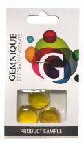 Gemnique Glass Gems - Yellow Luster (Sample)