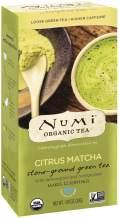 Numi Organic Tea Citrus Matcha, 30 Grams per Box (Pack of 6 Boxes) Highest Grade Japanese Matcha Green Tea Powder (Packaging May Vary)
