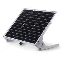 Sun Energise Waterproof 12V 30W Solar Battery Charger Pro - Built-in MPPT Charge Controller + 3-Stages Charging - 30 Watts Solar Panel Trickle Charger with Adjustable Mount Brackets + SAE Cable Kits