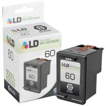 LD Remanufactured Ink Cartridge Replacement for HP 60 CC640WN (Black)