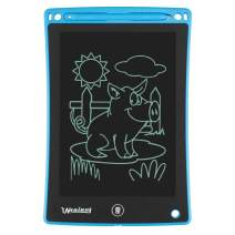 LCD Writing Tablet, 8.5-Inch Electronic Writing/Drawing Board, Handwriting Pad Children Doodle Board Drawing Tablet Bulletin Gift for Kids and Adults (Blue)