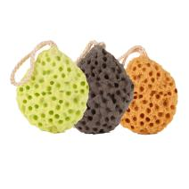 OWNFUN Set of 3 Sea Sponge Pouf Bath Shower Ball Cleaning Baby Face Washing…