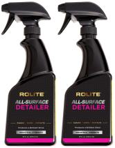 Rolite All-Surface Detailer (16 fl. oz.) The Ultimate Fast & Easy Wax on Automobiles, Marine, RVs, Boats, Glass, Clear Coat, Painted Surfaces 2 Pack