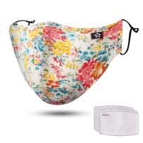 YAMANMAN Breathable Washable and Reusable Comfy Cotton Adjustable Cotton for Men & Women