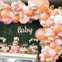 Baby Shower Pink Rose Black and White Striped Gold Dots Hand Sanitizer Label Bridal Shower Baby Shower Favor Wedding Shower