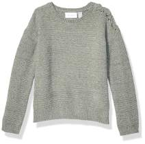 The Children's Place Big Girls' Long Sleeve Knit Sweater