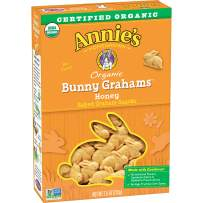 Annie's Homegrown Bunny Grahams, Honey, 7.5-Ounce Boxes (Pack of 12)