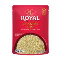 Authentic Royal Ready To Heat Rice, 4-Pack, Cilantro Lime