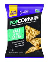 Popcorners (Salt of the Earth Sea Salt, 5 oz--Pack of 12)
