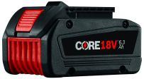 Bosch CORE18V Lithium Ion 6.3 Ah Battery GBA18V63