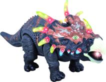Walking Dinosaur Toy TG636 – Triceratops Toy for Boys and Girls Over 3 Years Old - Dinosaur with Awesome Roar Sounds, Lights & Movement - by ThinkGizmos (Trademark Protected)