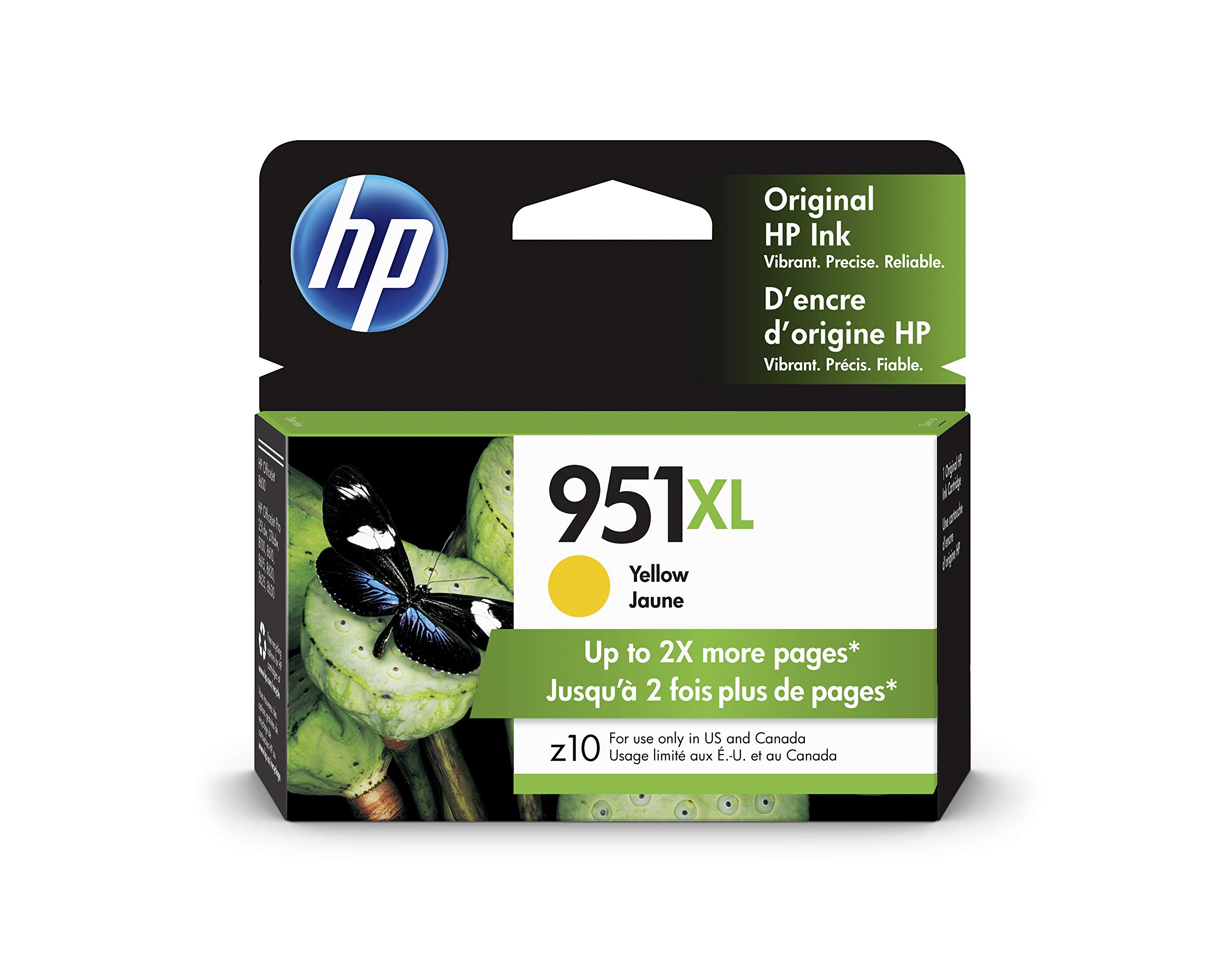 HP 951XL | Ink Cartridge | Yellow | CN048AN