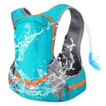 SKL Hydration Pack Backpack Insulated Water Backpack with 2L Water Bladder Hydration Backpack for Running Biking Cycling Hiking Camping Climbing