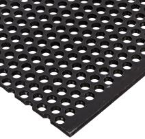 """A36 Steel Perforated Sheet, Unpolished (Mill) Finish, Hot Rolled, Staggered 0.25"""" Holes, ASTM A36, 0.12"""" Thickness, 11 Gauge, 24"""" Width, 36"""" Length, 0.375"""" Center to Center"""