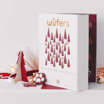 Wüfers Dog Cookie Advent Calendar   Handmade Hand-Decorated Dog Treats   Made with Locally Sourced Ingredients
