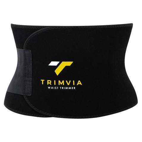 TRIMVIA Waist Trimmer for Women and Men, Sweat Band Waist Trainer, Waist Shaper, Waist Cincher