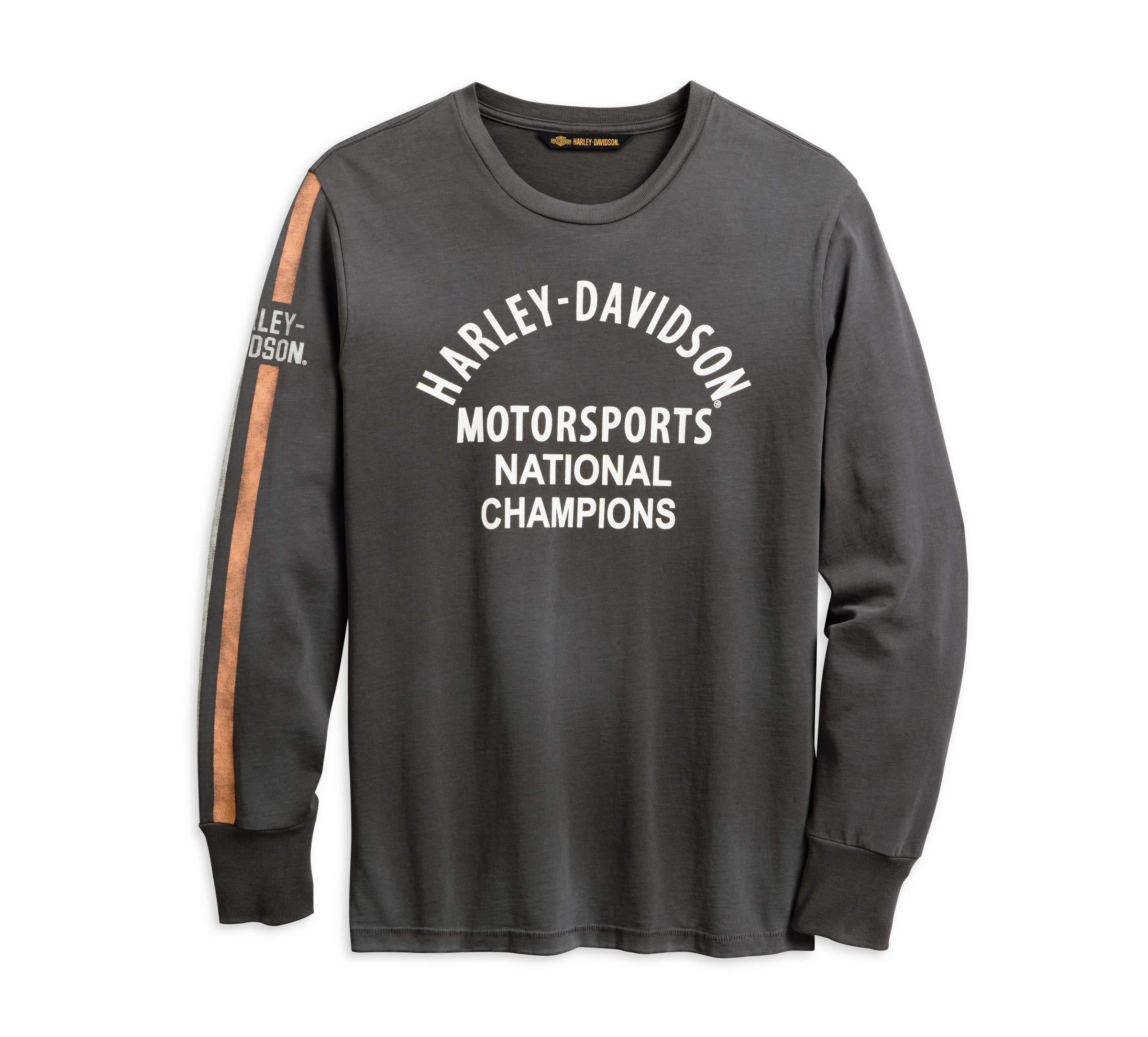 Harley-Davidson Men's Motorsports Sleeve Stripe Tee