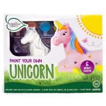 CREATIVE ROOTS Paint Your Own Unicorn by Horizon Group USA, DIY Unicorn Coloring Kit, Includes 6 Paint Pots & Paint Brush, Multicolor