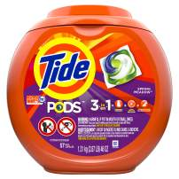 Tide Pods Laundry Detergent, Spring Meadow, 51 Ounce, 57 Count
